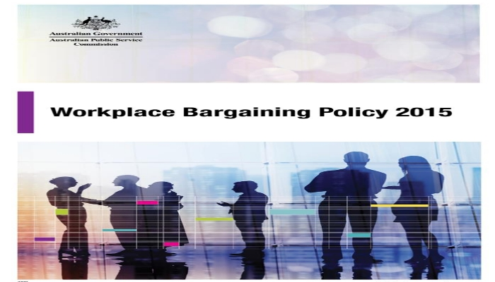 Workplace bargaining policy 2015